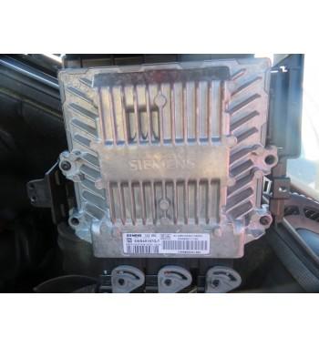 BASIC ECU CONTROL UNIT 5WS40167G-T HW9655041480 PEUGEOT  407 SW 2.0 HDI