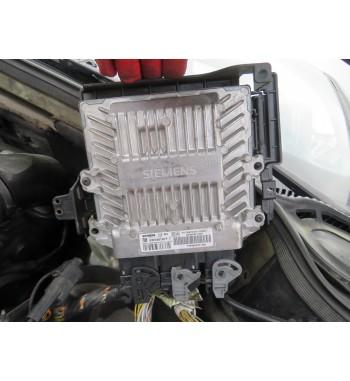 BASIC ECU CONTROL UNIT 5WS40167F-T HW9655041480 PEUGEOT  407   2.0 HDI