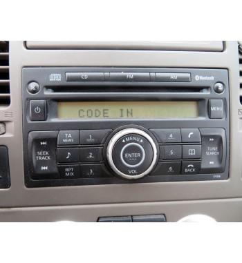 RADIO RECEIVER   NISSAN  TIIDA I C11